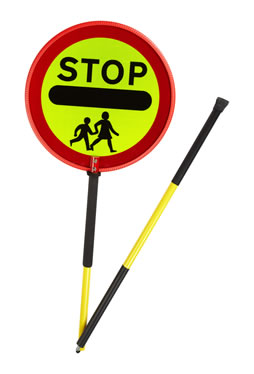 SCP Stop Sign Prismatic Two Piece Stop Sign