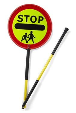 SCP Stop Sign Standard Two Piece Stop Sign
